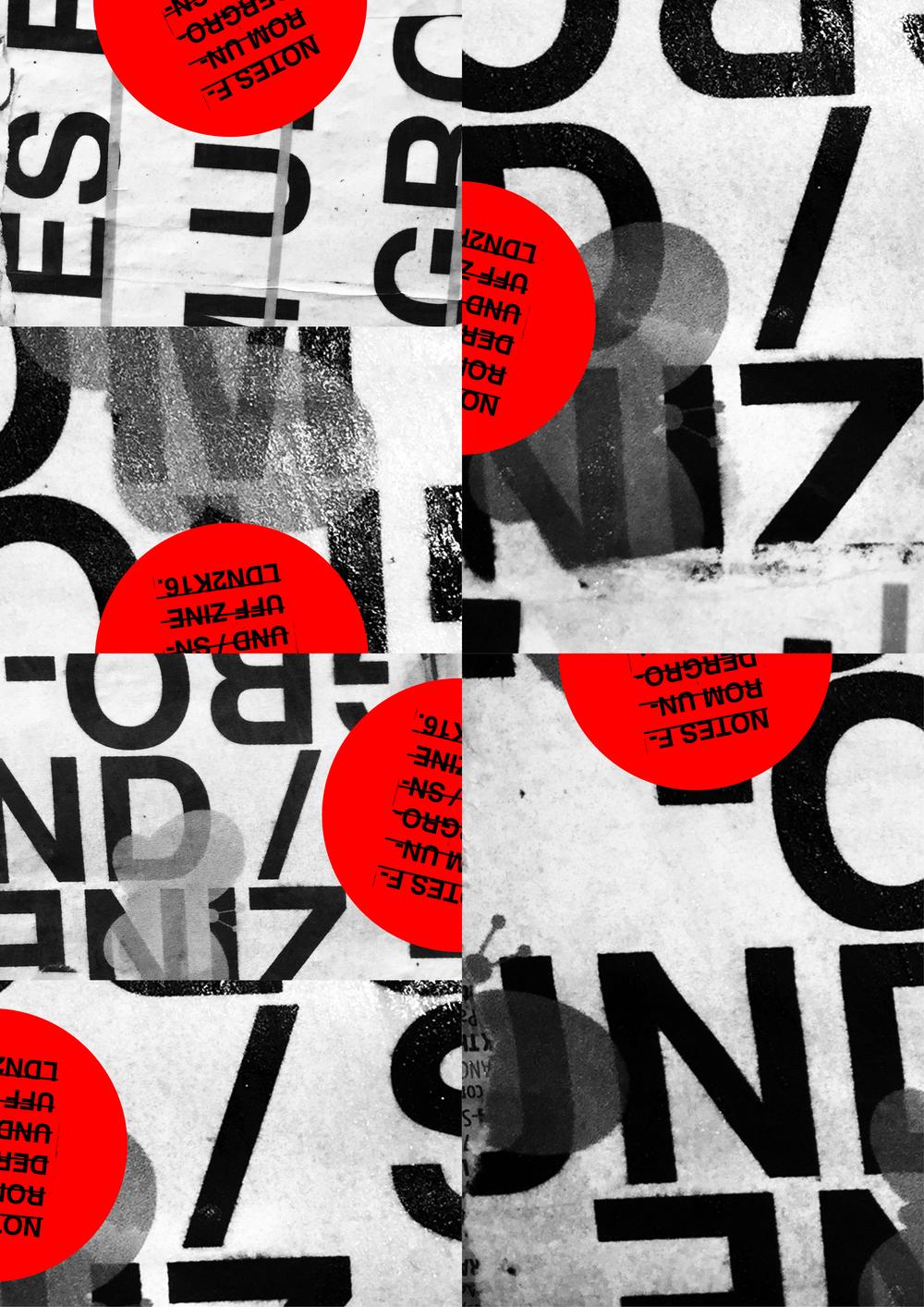 SNUFF ZINE \ NOTES FROM UNDERGROUND #PUNKLONDON