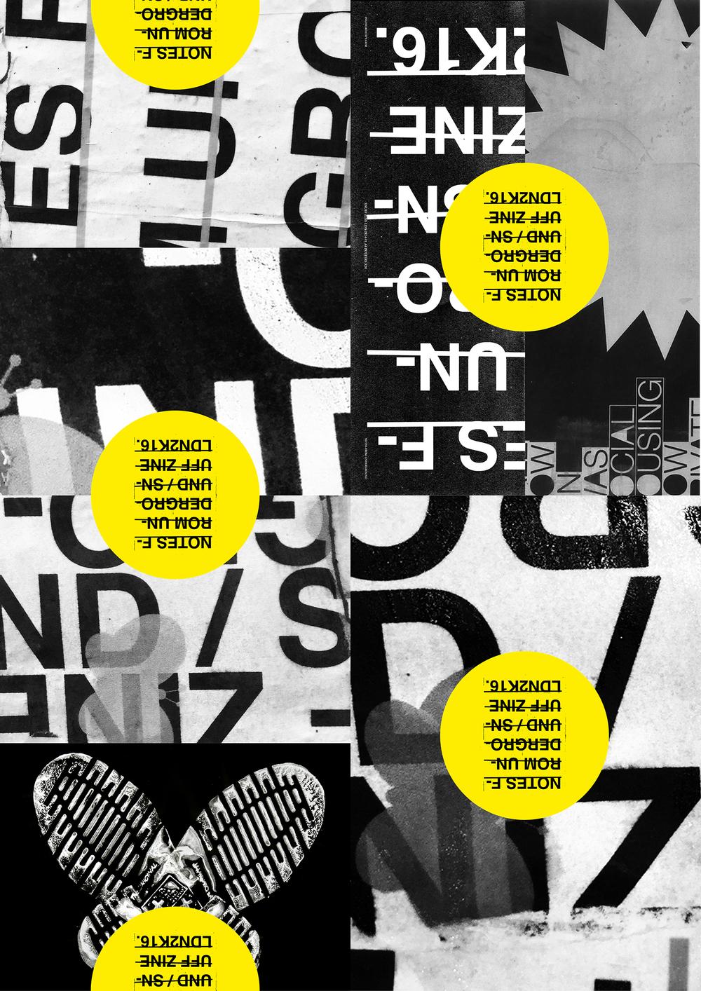 SNUFF ZINE \ TYPE COVER 3 #PUNKLONDON