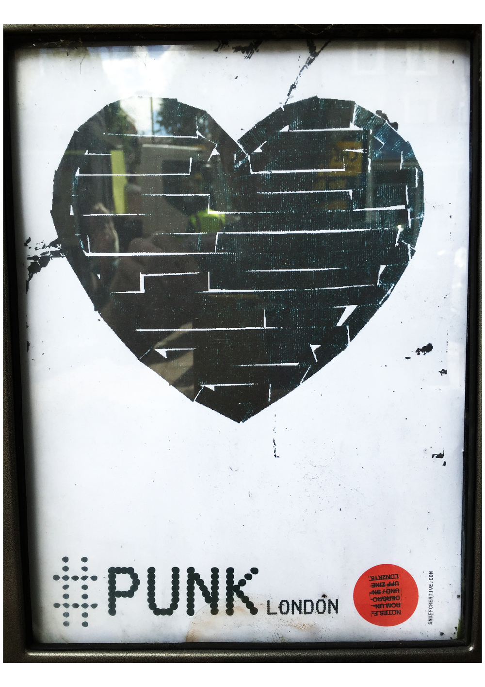 #PUNKLONDON \ DIY TAPE HEART \ SNUFF ZINE