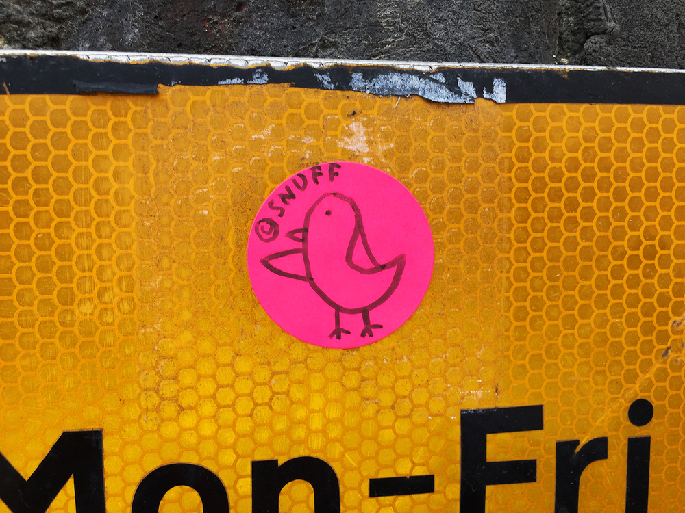 CHICK STICKER \ SNUFFCREATIVE2016