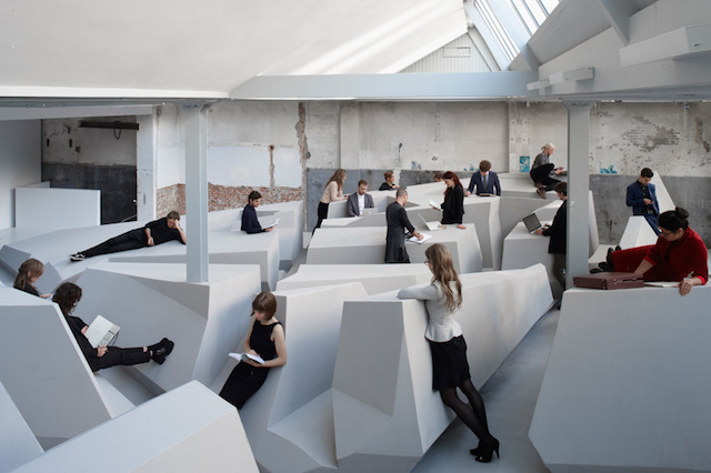 Dutch design studio  RAAAF  and artist  Barbara Visser  has designed
