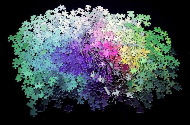artist designer  Clemens Habicht 'sCMYK Color Puzzle