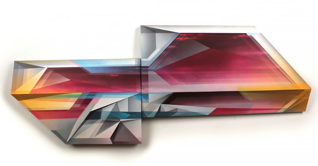 American artist  Trygve Faste  's work