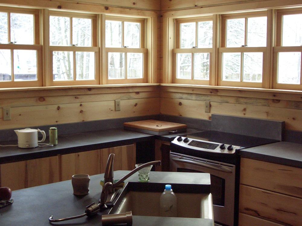 Kitchen design red hook