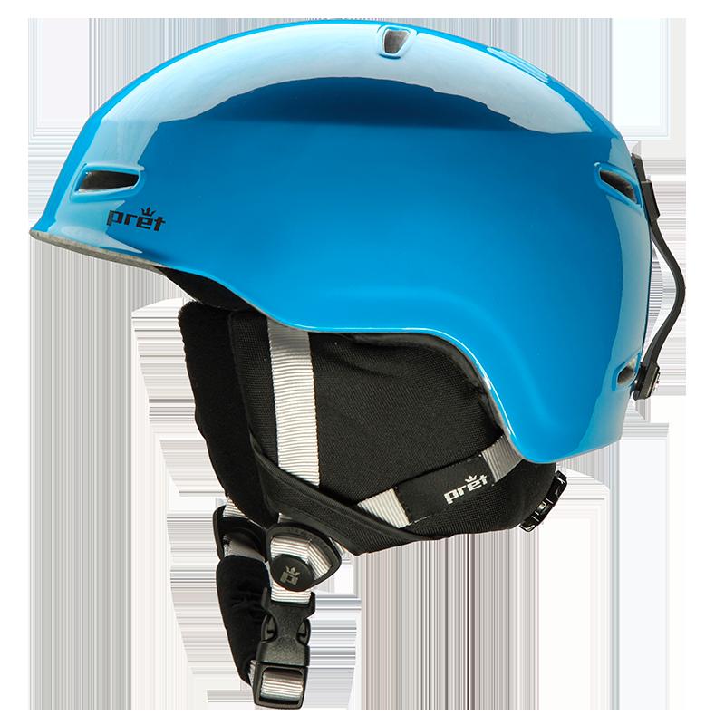 pret helmet blue