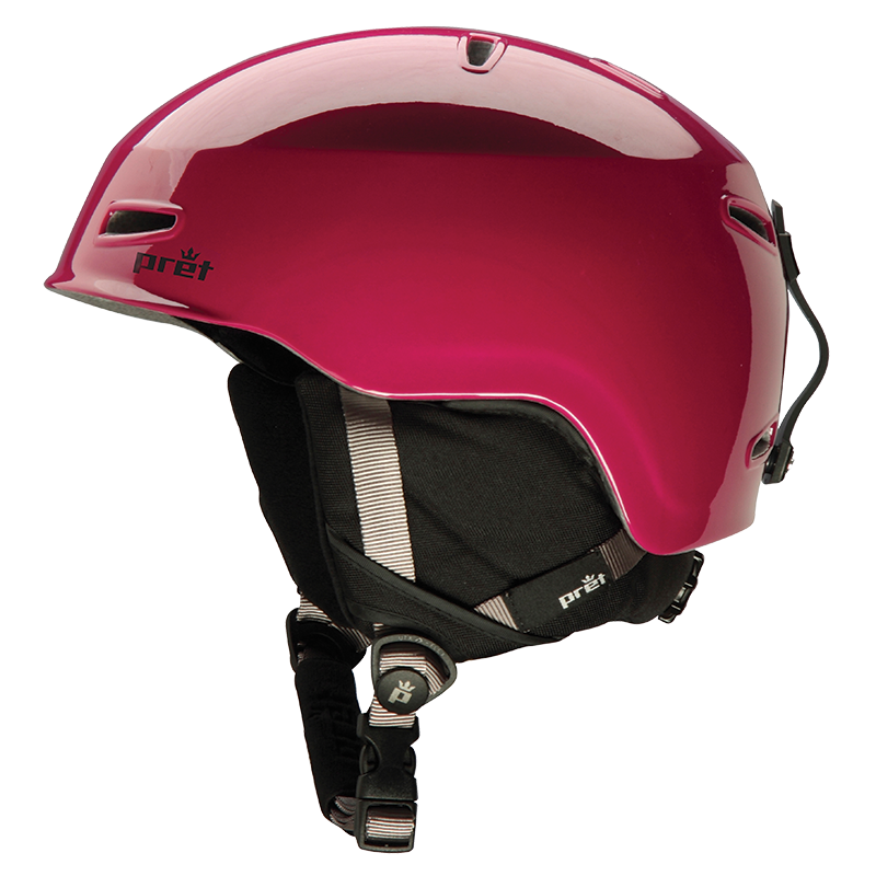 pret helmet red