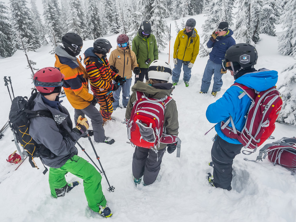 Copy of RIDGE Student athletes training for backcountry skiing during a skiing gap semester