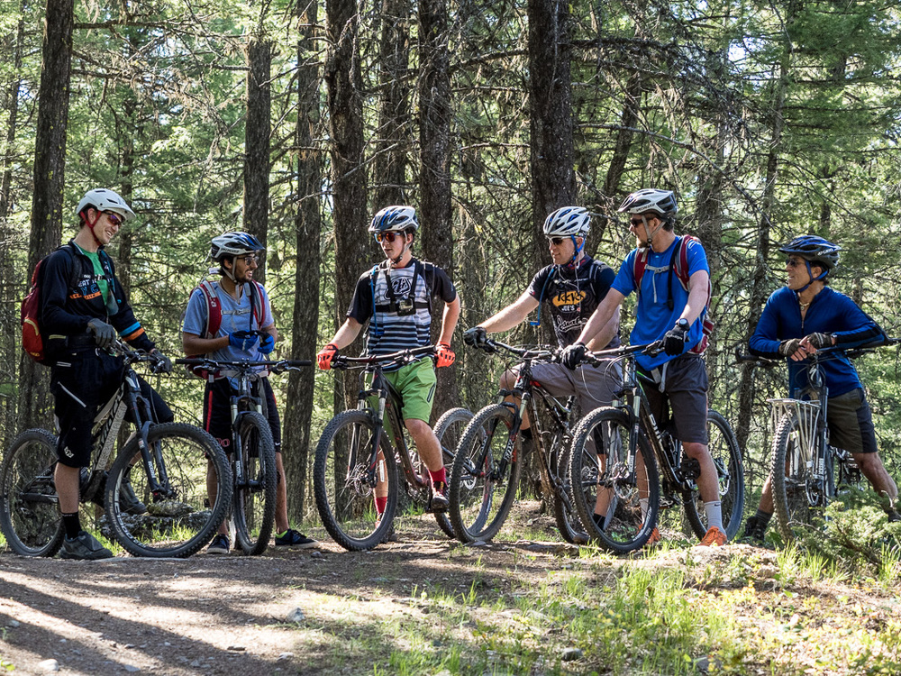 Mountain biking semester in Montana
