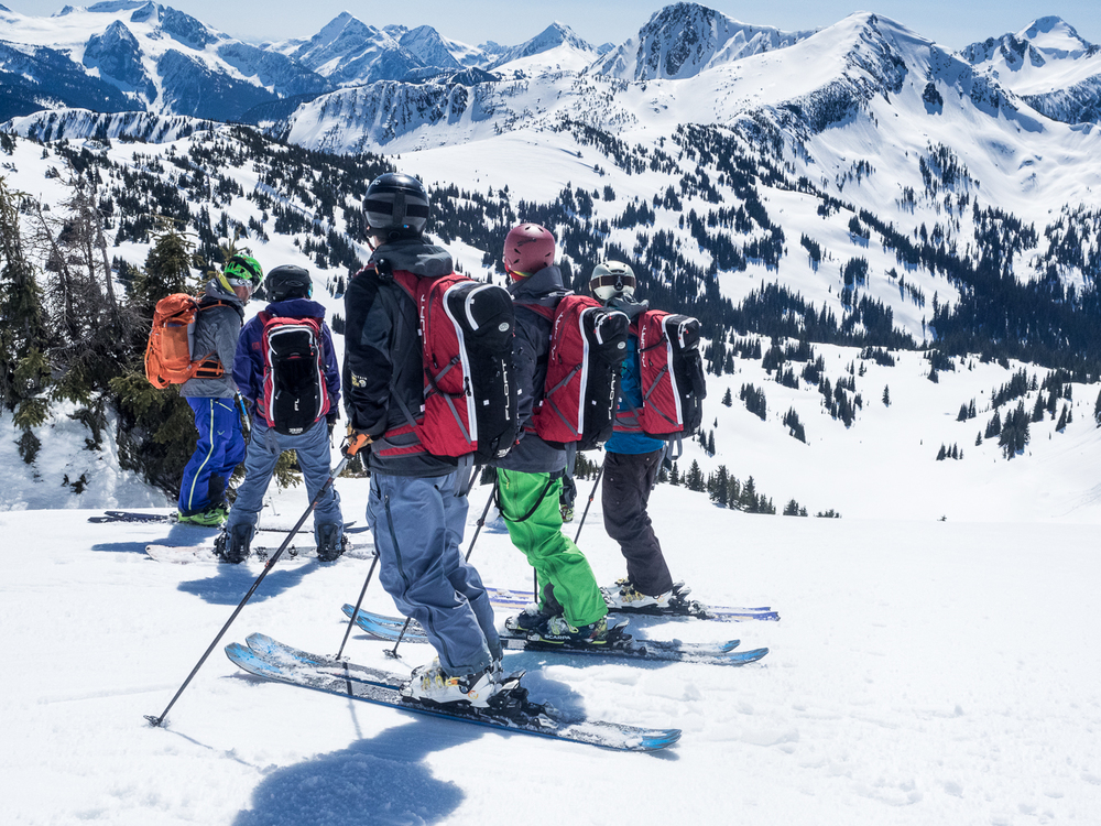Gap year backcountry skiing academy