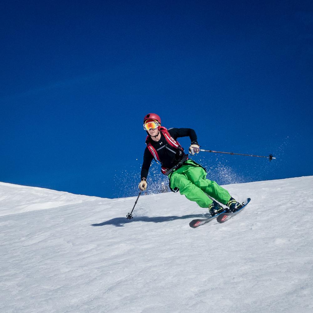 Skiing Montana