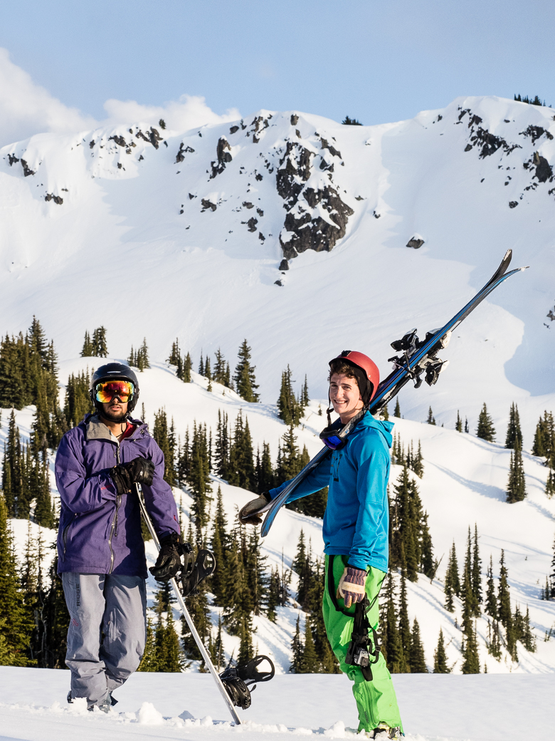 Skiing in Whitefish, Montana