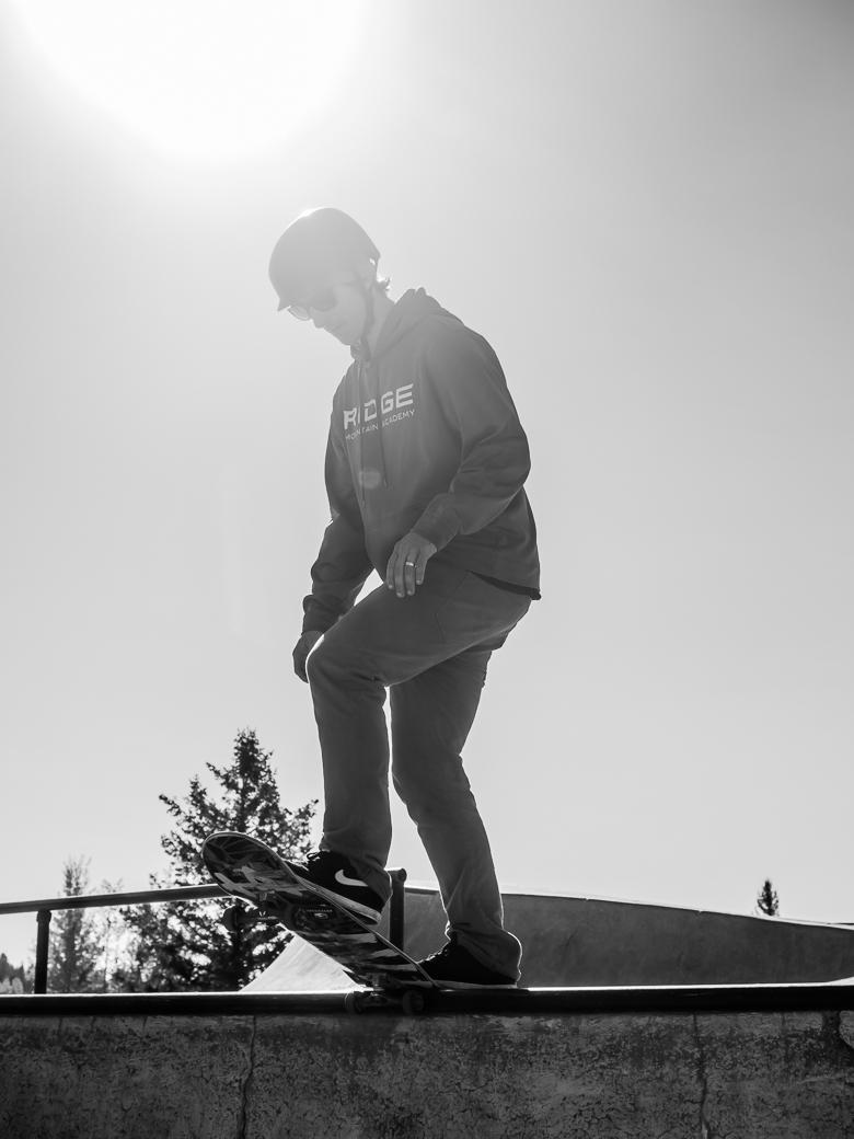Skateboard Gap Semester Montana