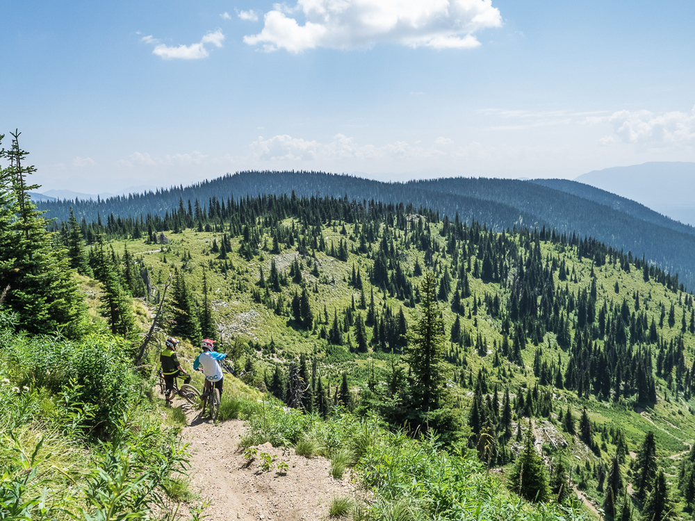 Mountain Biking in Whitefish, Montana