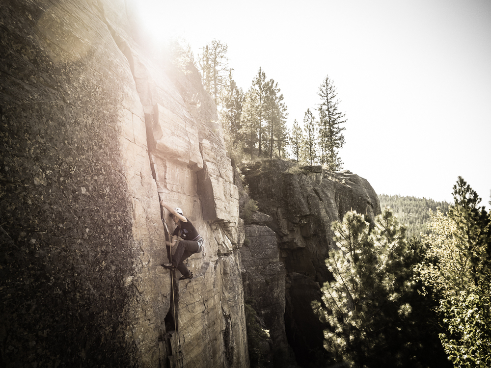 Rock Climbing Gap Year Montana