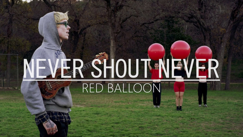"""Never Shout Never """"Red balloon"""" - Music Video"""
