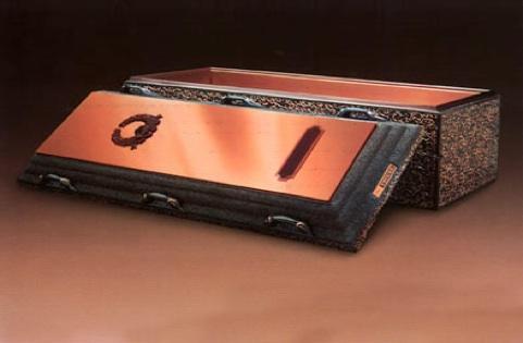 """Wilbert """"Triune Copper"""" Vault - $2,8955"""