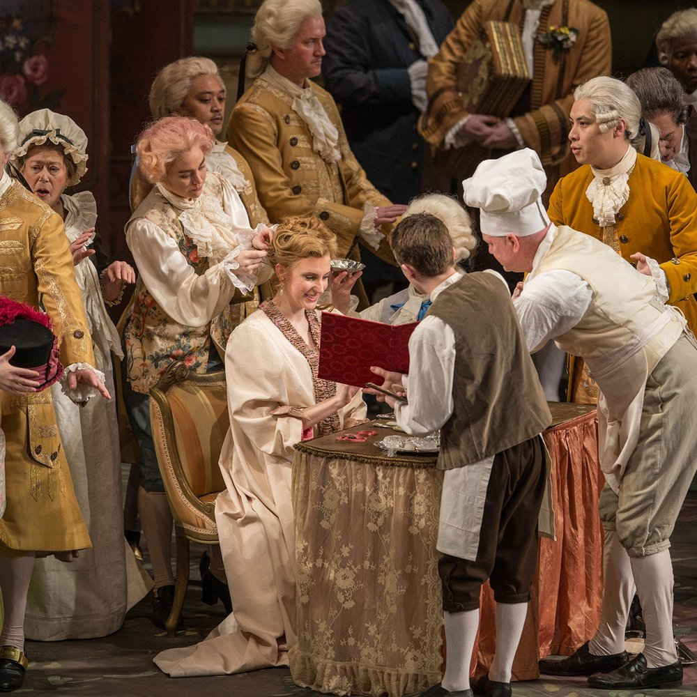 Marschallin in Der Rosenkavalier Lyric Opera of Chicago (Photo credit: Cory Weaver)