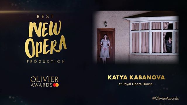 The Olivier Award for Best New Opera Production goes to Katya! Bursting with pride for this incredible team and the wonderful work we did together!! @royaloperahouse #olivierawards  #rohkatya