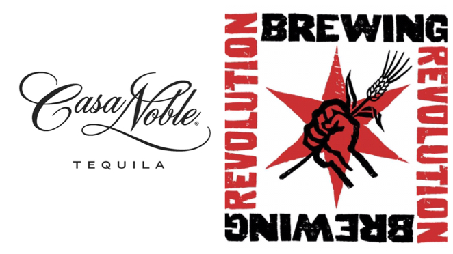 Casa Noble Tequila and Revolution Brewing.