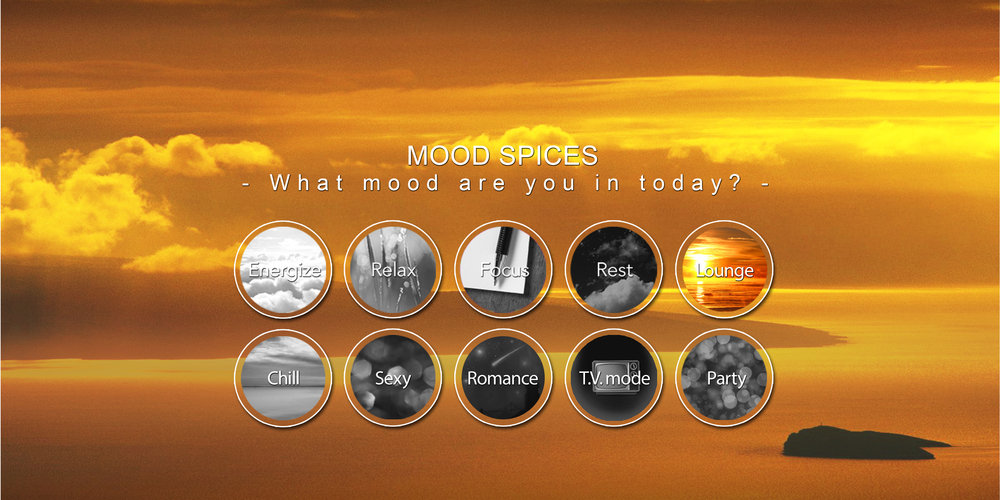The Spices Of Light: Our Mood Lighting Selection