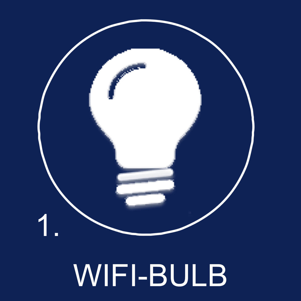 Replace your light bulbs with affordable WiFi enabled LED Bulbs.