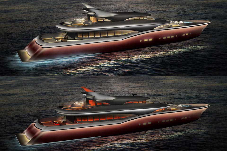 60m Superyacht © i3D, inc