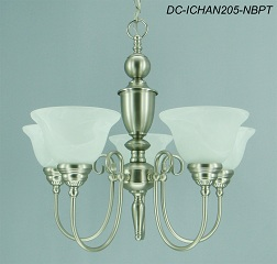Providence 5-Light Pewter Dining Room Chandelier (Standard)