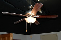 "52"" 5-Blade Pewter Ceiling Fan"