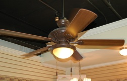 Aged Iron Ceiling Fan