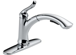 Delta Linden Chrome Kitchen Faucet