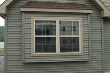 Optional Box Bay Window on Any Double Mulled Window on Gable End
