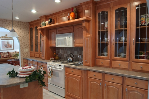 Original Kitchen Design. Pleasant Valley offers a wide variety of kitchen designs  layouts and customized selections We are also home to the industry s original Hearth Wall Homes Kitchens