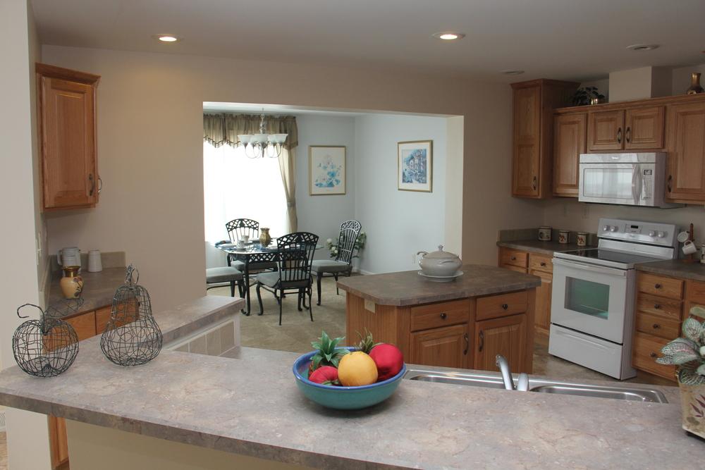 Richfield Kitchen w/Standard Natural Oak Cabinetry