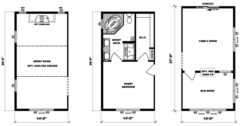 Flex Rooms Pleasant Valley Homes