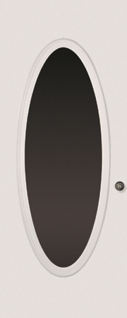 OVAL DOOR GLASS: ODL NOuVEAU