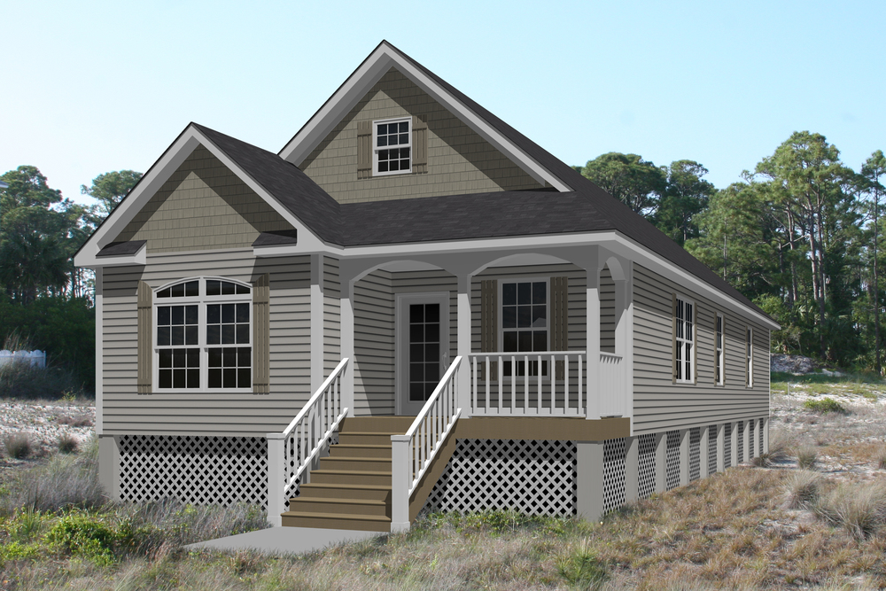 Four bedrooms, two bathrooms, and one-floor living at its best. The Fenwick B offers just about everything in 1,694 square feet. If that's not enough, add a 6' covered front porch and a gourmet kitchen open to a spacious great room.