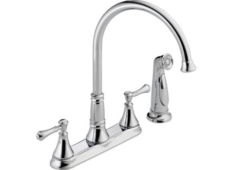 DELTA CASSIDY chrome KITCHEN FAUCET