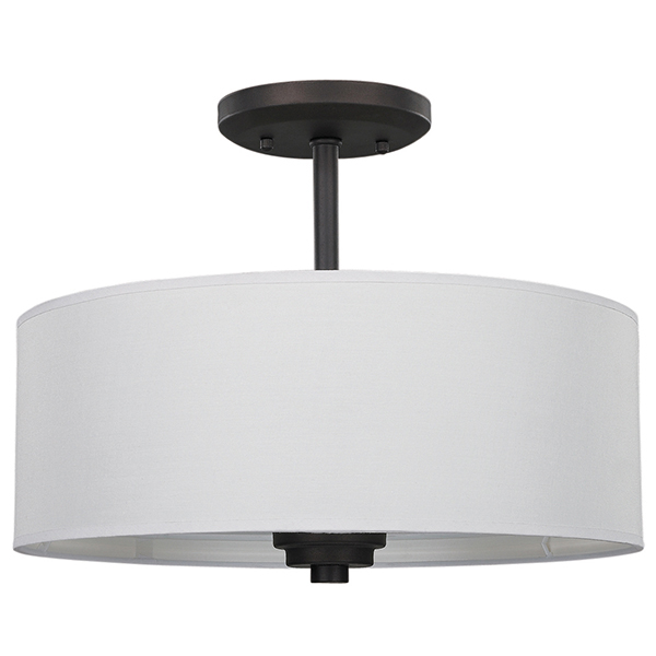 Pier Flush-Mount Oil-Rubbed Bronze Light (Optional)