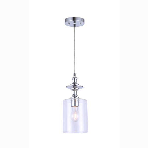 York Chrome Pendant Light