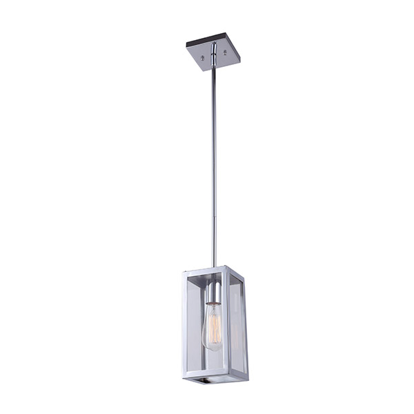 Langley Chrome Pendant Light