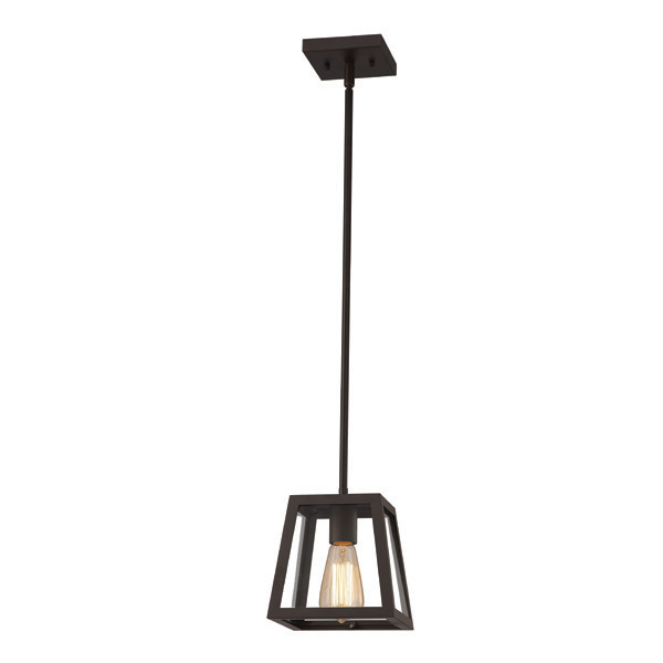 Flynn Oil-Rubbed Bronze Pendant Light