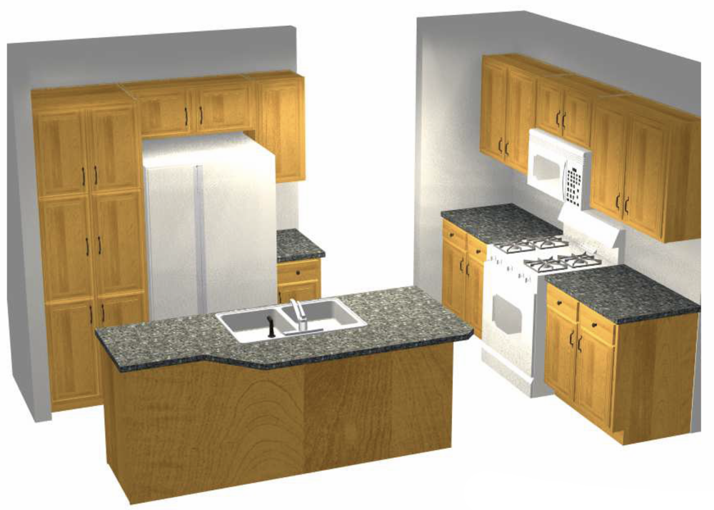Kitchen Artist's Rendering