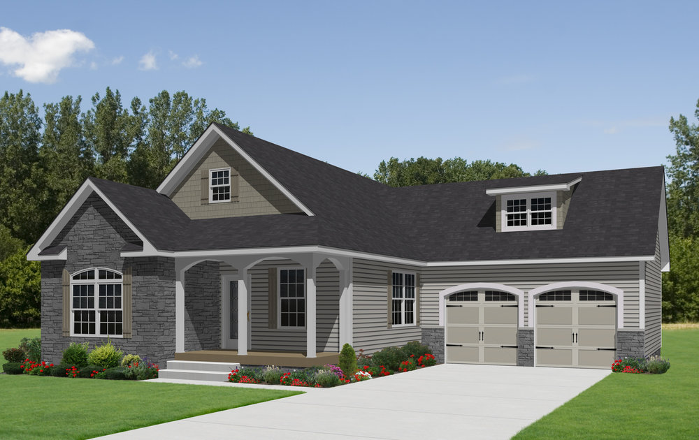 Fenwick with 10.0_12 pitch roof, 6.0_12 pitch porch roof, shake siding, site-built garage.jpg
