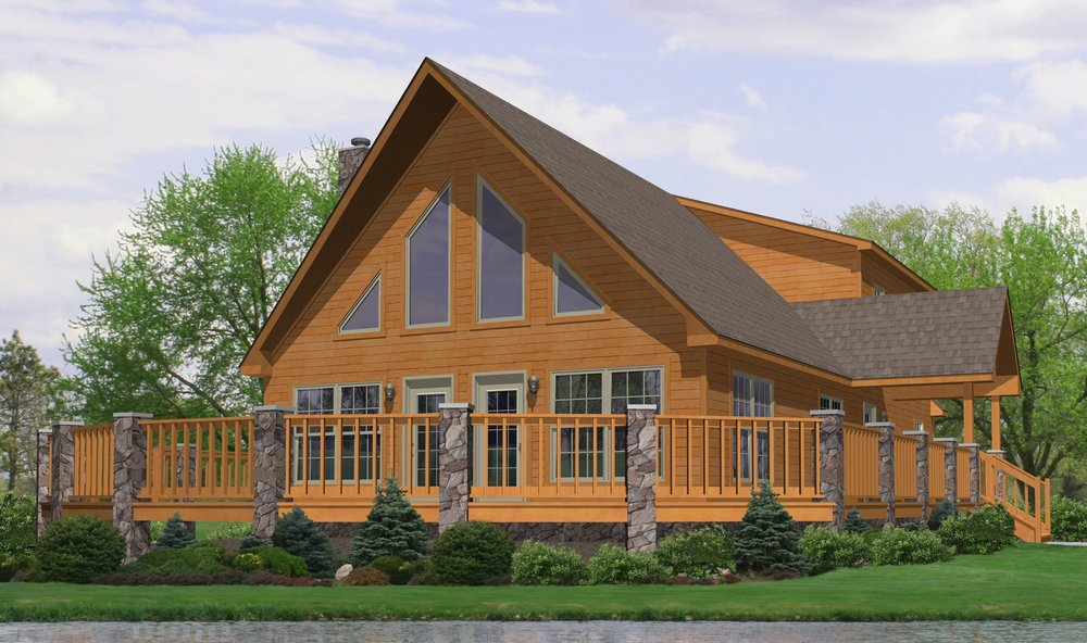Lake Victoria Pleasant Valley Homes: modular home in pa