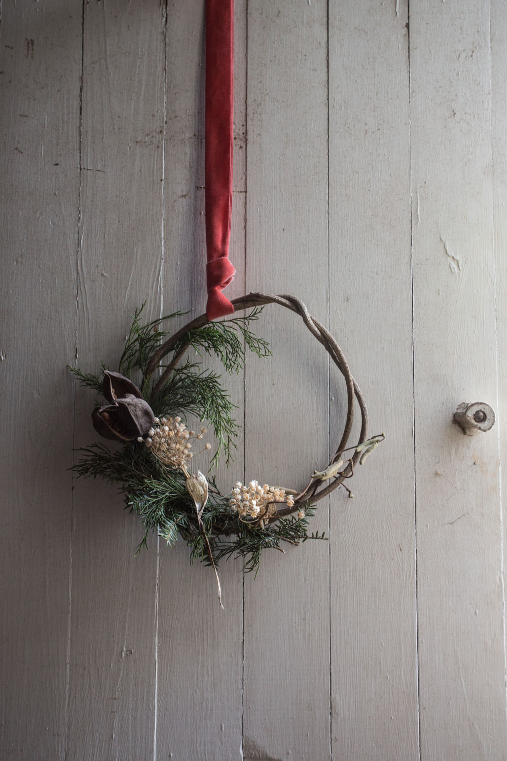 wreath and photographs by rinne allen