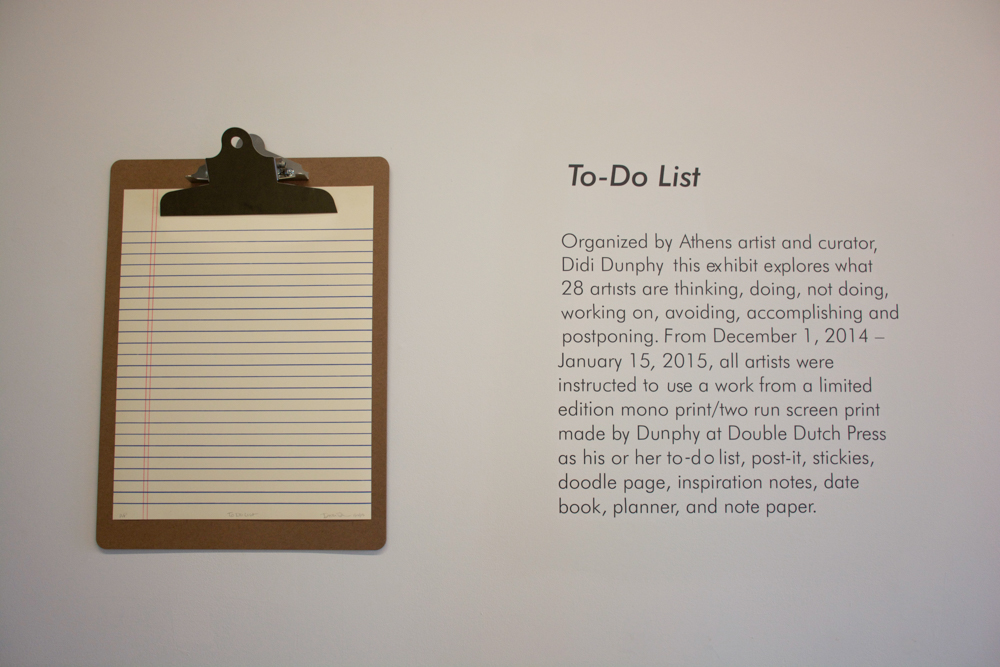 the 'to do list' show — Beauty Everyday