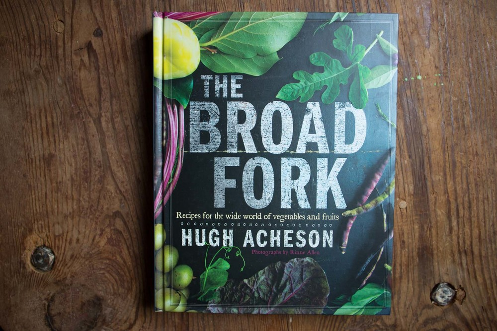 our friend, and fellow Athenian, Hugh Acheson came out with his second cookbook in may of this year (and, a disclaimer: I was happy to again help him with the photographs for it). titled The Broad Fork, this book is aimed at guiding you through the seasonal bounty of ingredients anytime of the year: fall, winter, spring, & summer. the cookbook has been on our counter a lot the last month as we have cooked our way through our backyard garden patch and the farmer's market. another great thing about the cookbook is that it has a range of recipes, with easy ones as well as more advanced recipes, which makes it a good cookbook for just about anyone.  enjoy!