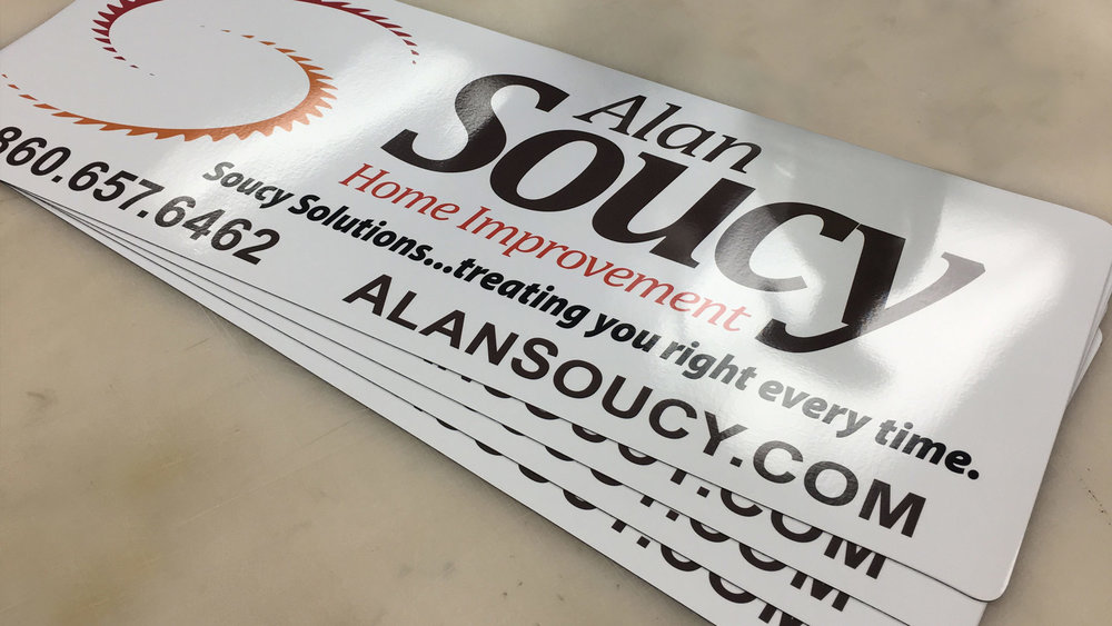 Alan Soucy Vehicle Magnets