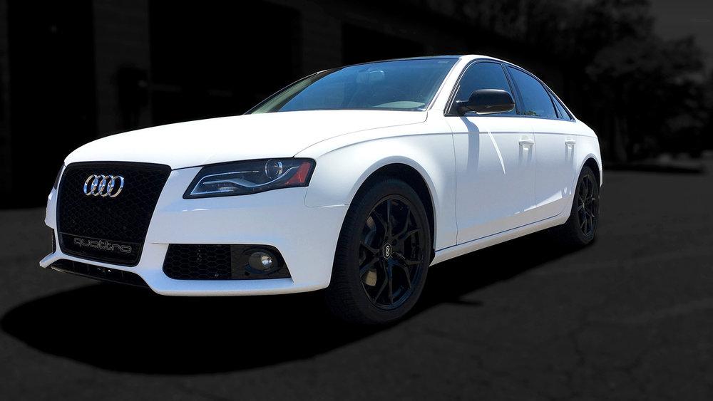 Audi - Matte White Wrap