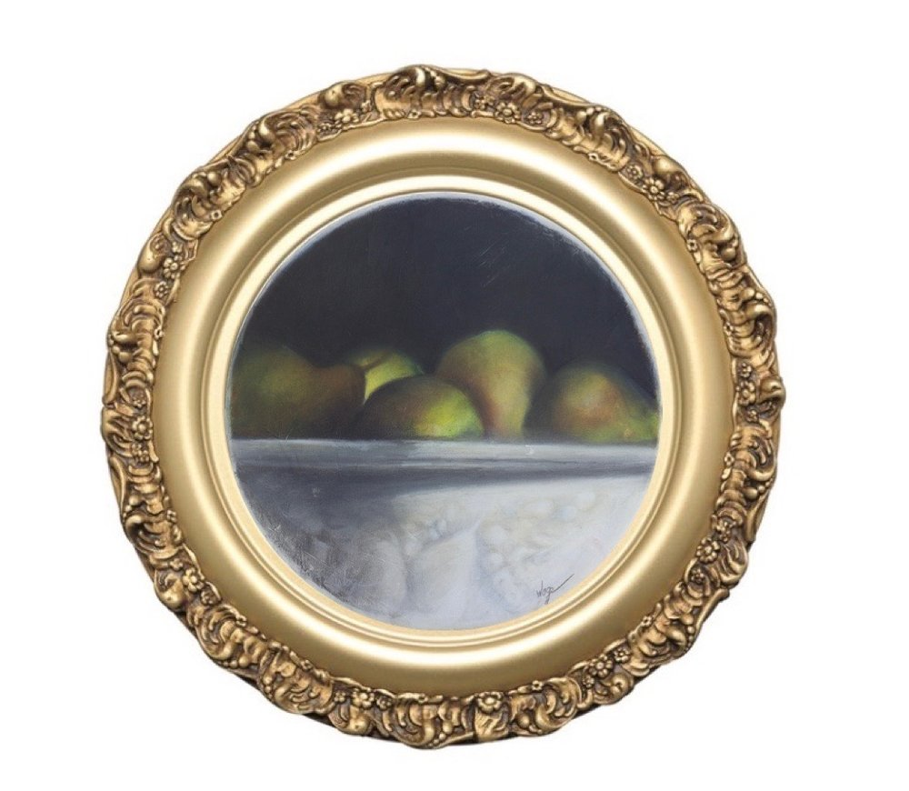 Pears in Gold Frame (4).jpg